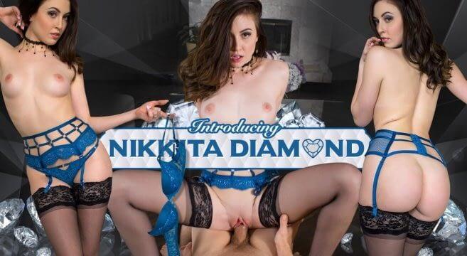 Introducing Nikkita Diamond VR pornofilm