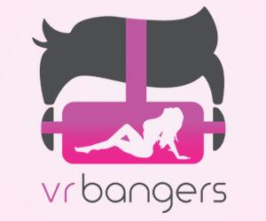 Het logo van VR Bangers met vrouw en stier