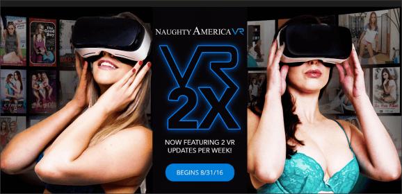 Naughty America VR komt met twee films per week tegen aanbiedingstarief