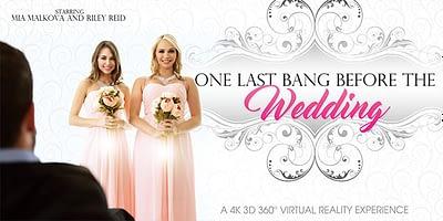 Laatste wip voor de bruiloft