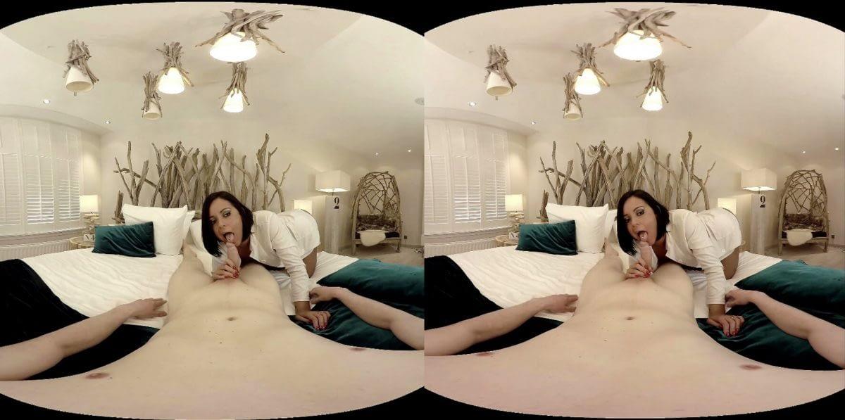 VR pornofilm in haar kontje