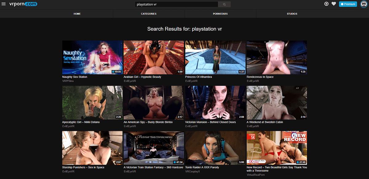 Platstation VR Porn