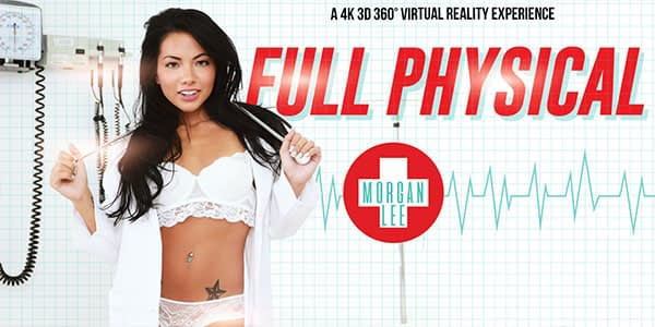 Full physical 360 vr met Morgan Lee
