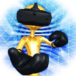 VR porno, VR robot. robotseks