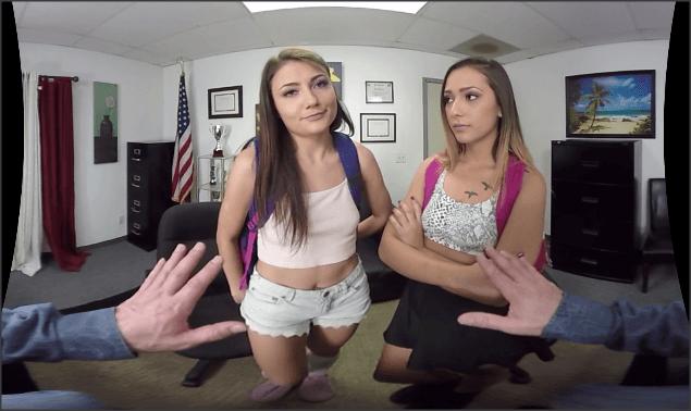 Jaye Summers, Adria Rae, Wankz VR